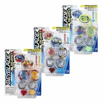 NEW Beyblade Burst Pack 2 Dual Tops Assorted