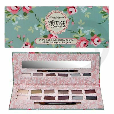 Body Collection Nude Eyeshadow Palette Bronze Gold Silver Shimmer Gift Set Kit
