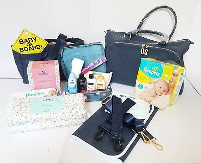 Pre Packed Maternity Hospital Changing Bag - with 16 Products