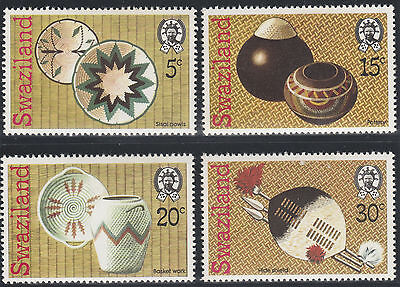 Swaziland 1979 Handcraft (2nd Series)  SG 310-313 Mint Hinged