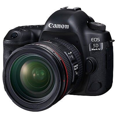 Canon EOS 5D Mark IV Digital SLR Camera with 24-70mm f/4.0L IS USM Lens