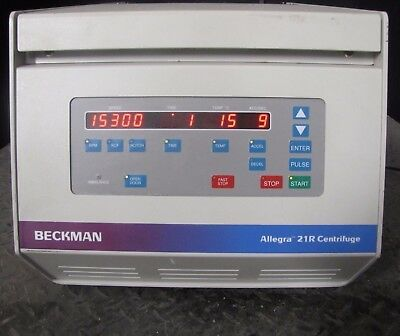 Beckman Coulter Allegra 21R Centrifuge W/ Rotor- Cat # 367570 (#1501)