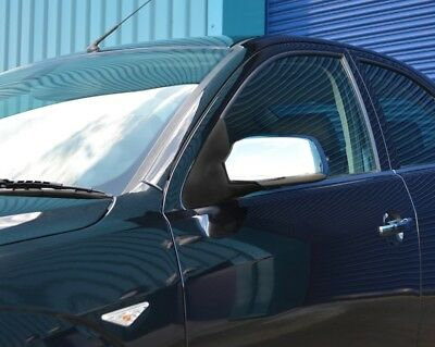 Chrome Wing Mirror Trim Set Covers To Fit Ford Focus (2005-08)