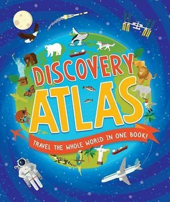Children's Discovery Atlas by Anita Ganeri New Hardback Book