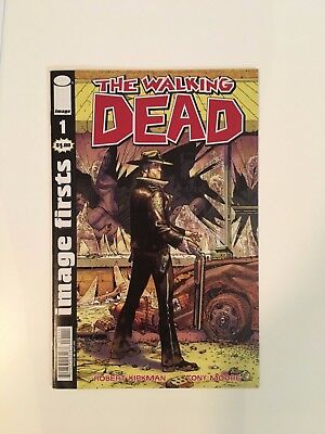 Walking Dead #1 comics usa First Issues