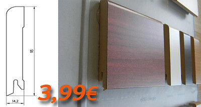 SKIRTING BOARDS HDF 95X14,2 cutting Modern painting SEVERAL SUPER DEAL