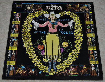 THE BYRDS Sweetheart of the Rodeo SCARCE ORIG UK 1968 MONO EX LP – LOVELY COPY.