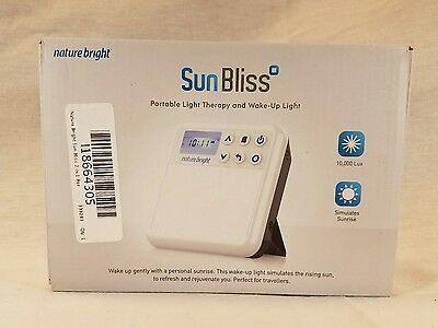 Naturebright Sunbliss Portable Light Therapy Wake-Up Light*NOB