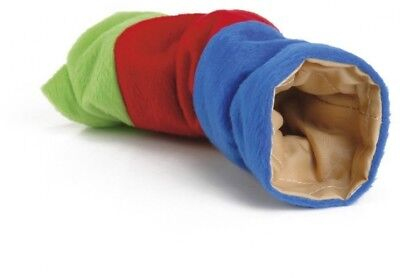 Beeztees Plush Playing Tunnel For Rodents, 25 Cm