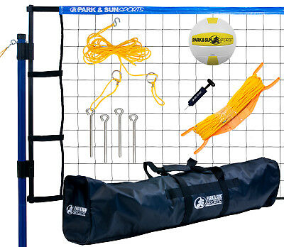 Park & Sun Spiker Flex Recreational Level Volleyball Net System, New