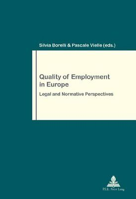 Quality of Employment in Europe New Paperback Book