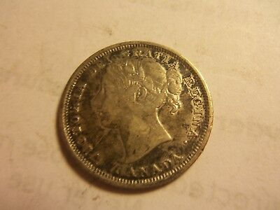 1858 20 cent coin 925 silver