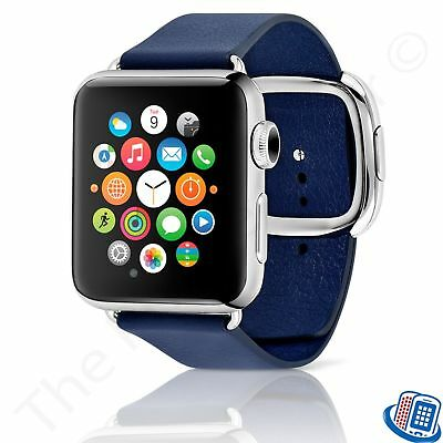 OEM Genuine Apple - 38mm Modern Buckle Band (Midnight Blue) Large