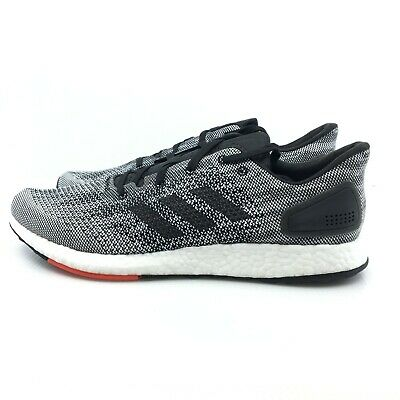 separation shoes 51669 d3f0f Adidas PureBoost DPR Boost Core Black Gray Running White Oreo S80993  Stretch Web