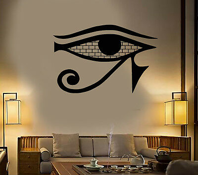 Vinyl Wall Decal Ancient Egypt Egyptian God Eye Of Ra Stickers (1786ig)