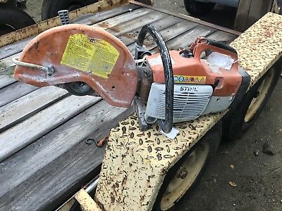 STIHL TS-400 CONCRETE CUT OFF SAW 14 inch BLADE Parts Or Repair