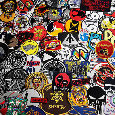 TV - Science Fiction, Action, Adventure Embroidered IRON-ON PATCH Store - NEW!
