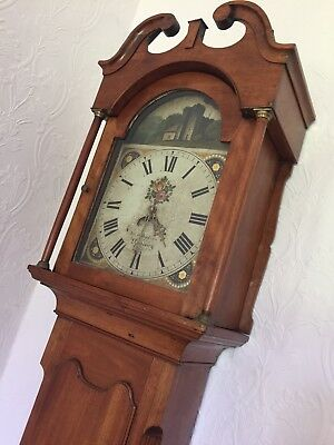 Antique Grandfather Clock - John Hopkins