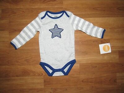 NWT GYMBOREE striped bodysuit outfit shirt top 3-6 months $ new