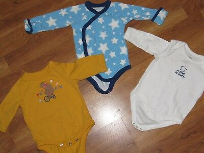 baby Gap GYMBOREE 3 lot bodysuit outfit shirt top 0-3 months $
