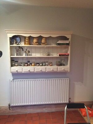 Victorian Style Kitchen Display Wall Cabinet