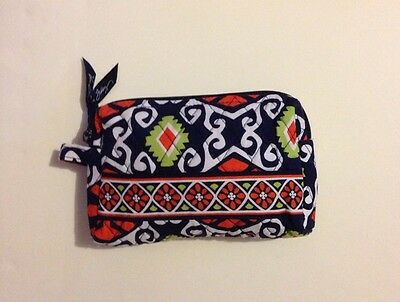 New With Tag Vera Bradley Travel SMALL Cosmetic Bag In Sun Valley
