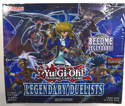 Yu-Gi-Oh! Yugioh Legendary Duelists Factory Sealed English Booster Box