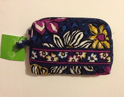 NWT Vera Bradley Travel SMALL Cosmetic Bag In African Violet