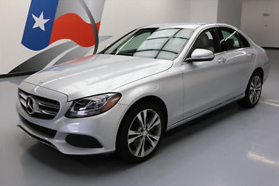 2015 Mercedes-Benz C-Class 4Matic Sedan 4-Door 2015 MERCEDES-BENZ C300 SPORT 4MATIC AWD NAV 27K MILES #030502 Texas Direct Auto