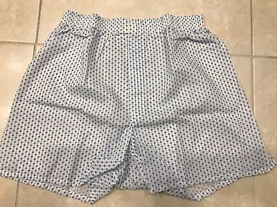 Vintage USA Deadstock 1970s Mens Lee BOXER SHORTS underwear size MEDIUM 36 - 38