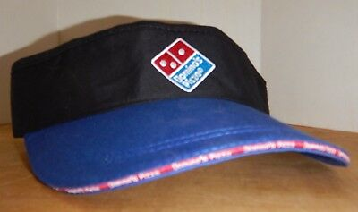 NEW, Never Worn DOMINO'S PIZZA Employee, Crew, Delivery Driver VISOR or CAP/HAT