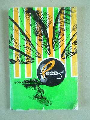 Vintage 1969 Reed Fly Fishing Tackle Catalog ~ Fly Fishing Accessories ~ Flies
