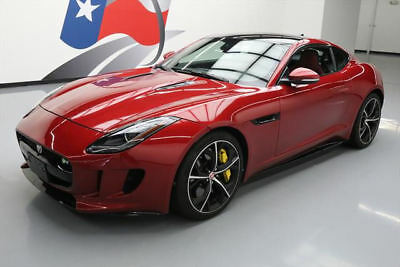 2015 Jaguar F-Type  2015 JAGUAR F-TYPE R COUPE S/C SUNROOF NAV 20'S 36K MI #K14785 Texas Direct Auto