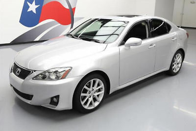 2012 Lexus IS Base Sedan 4-Door 2012 LEXUS IS250 CLIMATE SEATS SUNROOF PADDLE SHIFT 67K #159127 Texas Direct