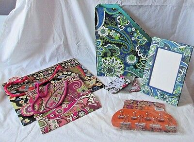 Lot of 6 Vera Bradley Mixed Items Various Patterns - Unused