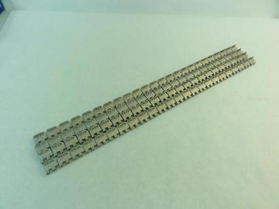 171918 Old-Stock, Alligator RS125SJ24/600SS Lot-4 Staple Belt Fasteners, SS