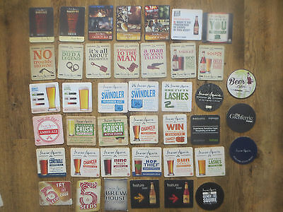 41 Different JAMES SQUIRE Micro Brewery collectable  COASTERS