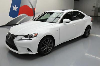 2015 Lexus IS  2015 LEXUS IS250 F SPORT SUNROOF NAV REARVIEW CAM 35K #070019 Texas Direct Auto