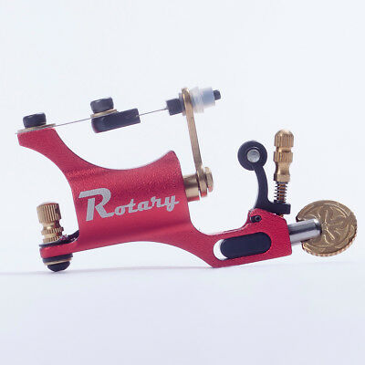 Pro New Style Red Rotary Motor Tattoo Machine Gun For Liner Shader Supplies