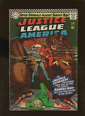 Justice League of America 45 FN 6.0 * 1 Book Lot * Shaggy Man!!!