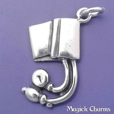 Pressure Cuff sterling silver charm .925 x 1 medical charms DKC42836