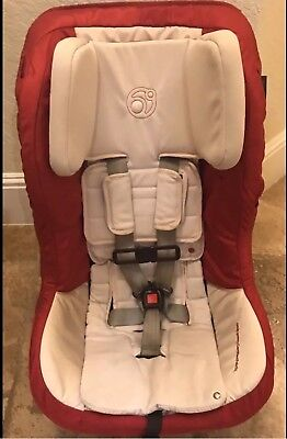 ORBIT BABY G3 TODDLER Convertible CAR SEAT! Rare!l RUBY RED expires 2021