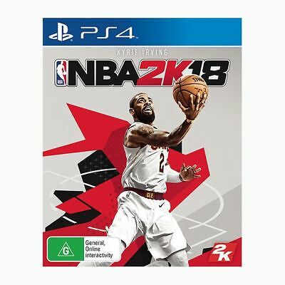New Nba 2K18 - Ps4