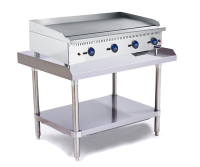 New BL-HP4 Azzurro 4 Burner Griddle/Hot Plate on Stand +  Warranty / 1.2m wide!