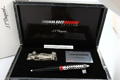 S.t Dupont R.b Limited Edition  Total) Race Machine Formula 1- New In Box #0228!