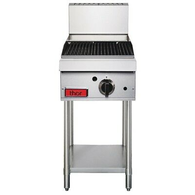 Thor 1 Burner Radiant Charbroiler/chargrill Natural Gas 380mm wide + Warranty
