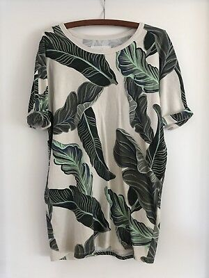Country Road Women's Tropical Palms Dress Size Xs Great Condition