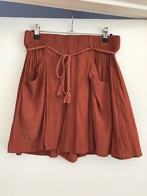 Country Road Women's Silky Skort Shorts Size 8 Excellent Condition