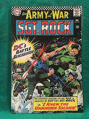 Our Army At War #168 ~ 1966 ~ Fn ~ 1St Unknown Soldier App!