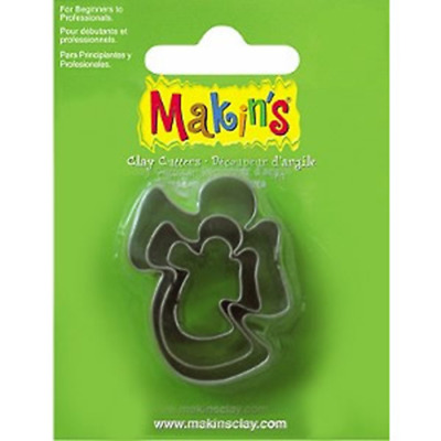 Makins Clay & Cookie Cutters -ANGEL(Set of 3) cake Fondant